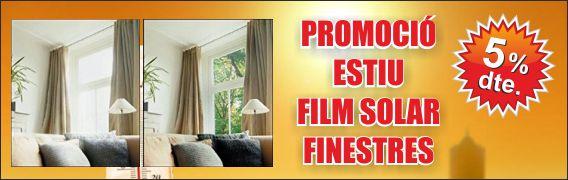 Promoció film protector UV