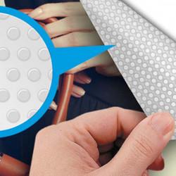 Vinilo transparente adhesivo punteado facil aplicacion RI-DOT