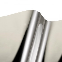 Vinilo metalizado plata brillante