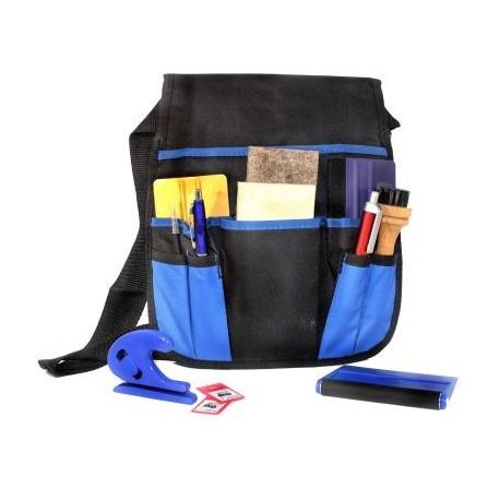 Bolsa con herramientas de aplicación