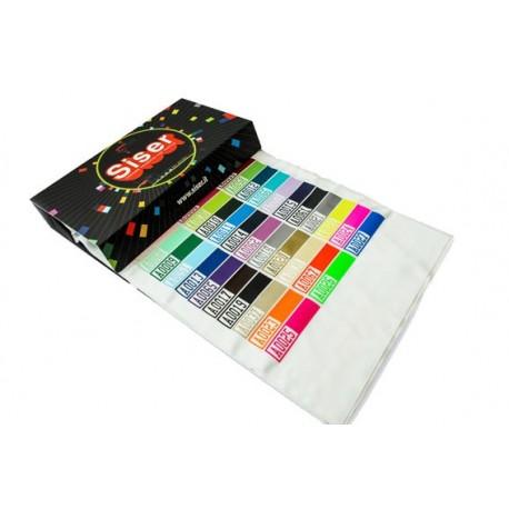Muestrario de vinilos textiles