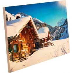 Panel fotográfico madera Chromaluxe