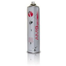 Spray adhesiu per textil.