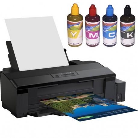 Epson EcoTank A4 con tinta sublimacion.