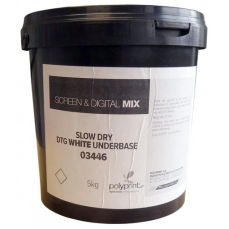 Tinta serigrafica textil para fondo blanco