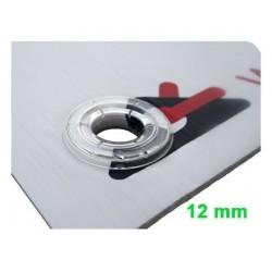 Ullets transparents 12 mm.