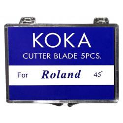 Cuchillas compatibles para Roland 45º