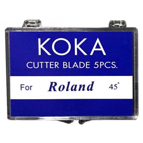 Ganivetes compatibles per a Roland 45º