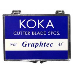 Cuchillas compatibles para Graphtec 45º