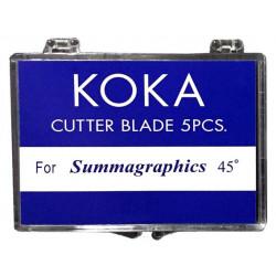 Cuchillas compatibles para Summa D 45º