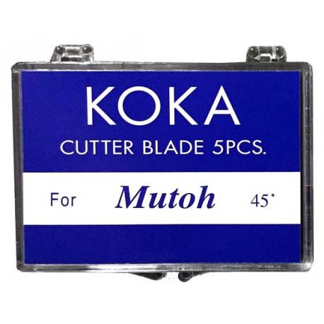 Cuchillas compatibles para Mutoh 45º