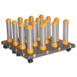 Portabobines modular 16 rotllos