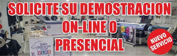 Nuevo servicio demostraciones ON-LINE