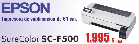 Epson SC-F500 para sublimación.