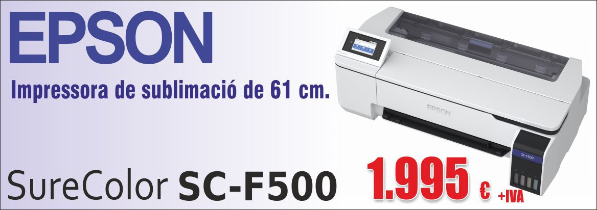 Impressora sublimació Epson SC-F500 61 cm